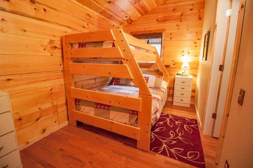 Glowing Pines bunkbeds