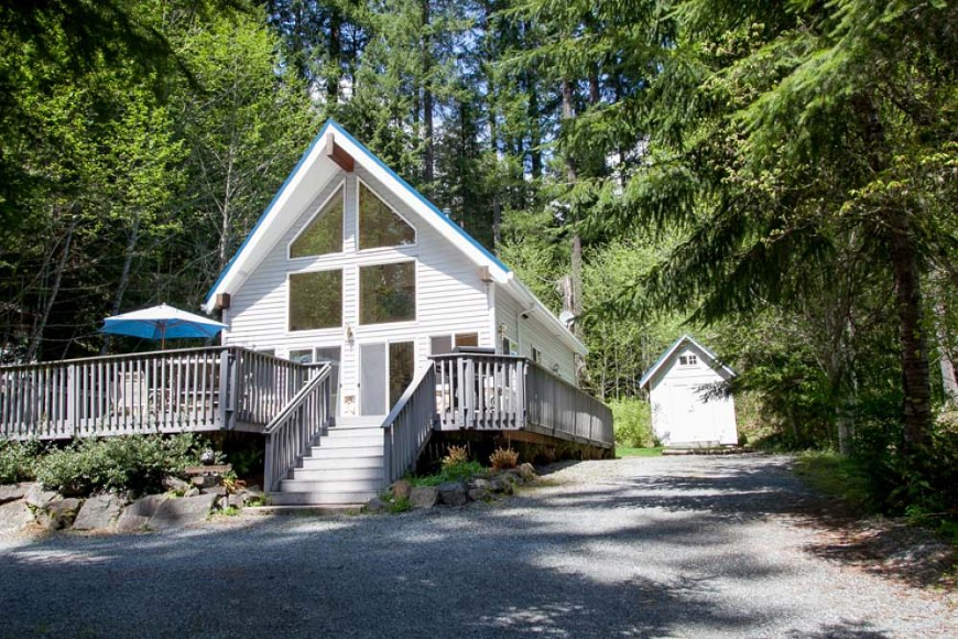 Little bears cabin at mount rainier vacation rental for Cabins near mt ranier