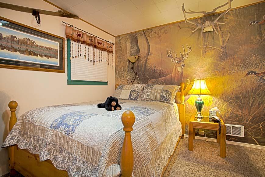 Starry Nights Cabin bedroom