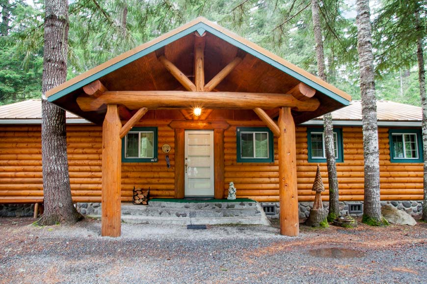 Starry Nights By The Creek Cabin At Mount Rainier Vacation
