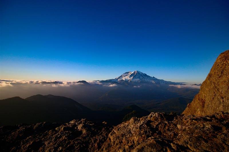 Mt Rainier views
