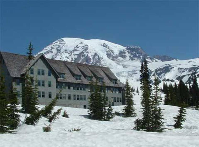 Paradise Inn at Mt Rainier