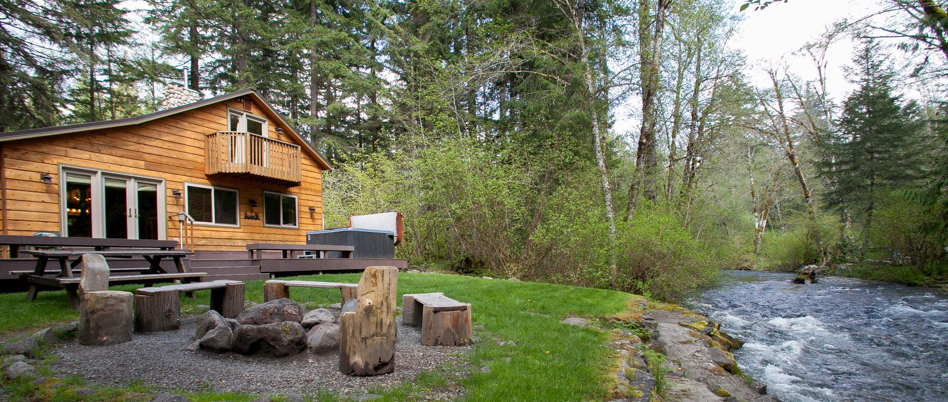Mount Rainier luxury cabin rentals