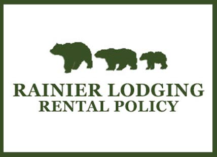 Rainier Lodging Rental Policy