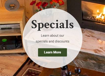 our specials and discounts